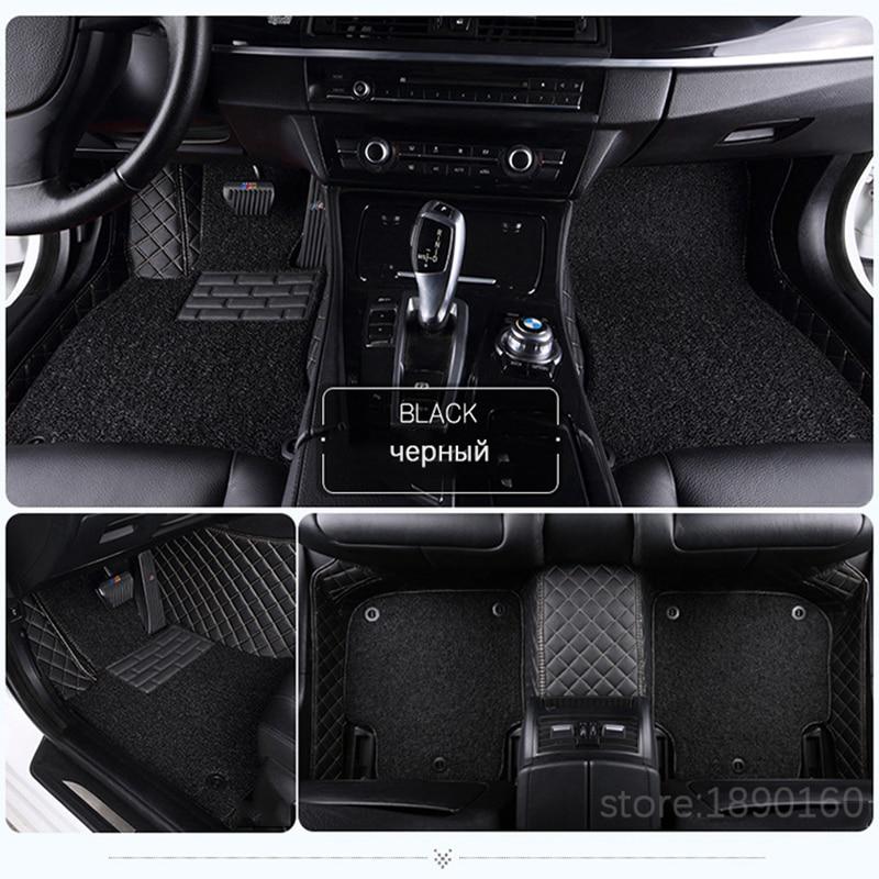 Custom car floor mats for Jaguar All Models XF XE XJ F-PACE F-TYPE brand firm soft car accessorie car styling auto floor mat car believe auto car floor foot mat for jaguar xf xj f pace xjl f type xk xfl xel car accessories waterproof styling