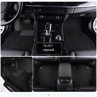 Custom Car Floor Mats For Jaguar All Models XF XE XJ F PACE F TYPE Brand