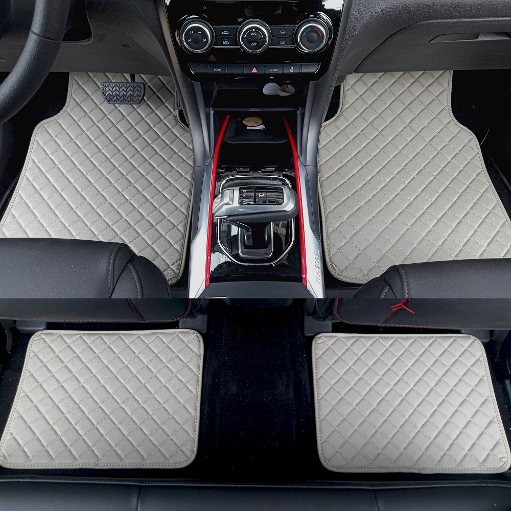 ZHAOYANHUA Universal car floor mats for all models Mercedes Benz W203 S203 CL203 W204 S204 C204 W205 S205 C class Car styling
