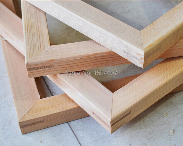 How To Make Stretcher Bars For Paintings