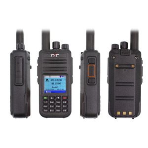 Image 2 - TYT MD UV380 Dual Band 136 174Mhz & 400 480MHz Walkie talkie DMR Digital Two Way Radio MD 380 dual time slot transceiver + USB