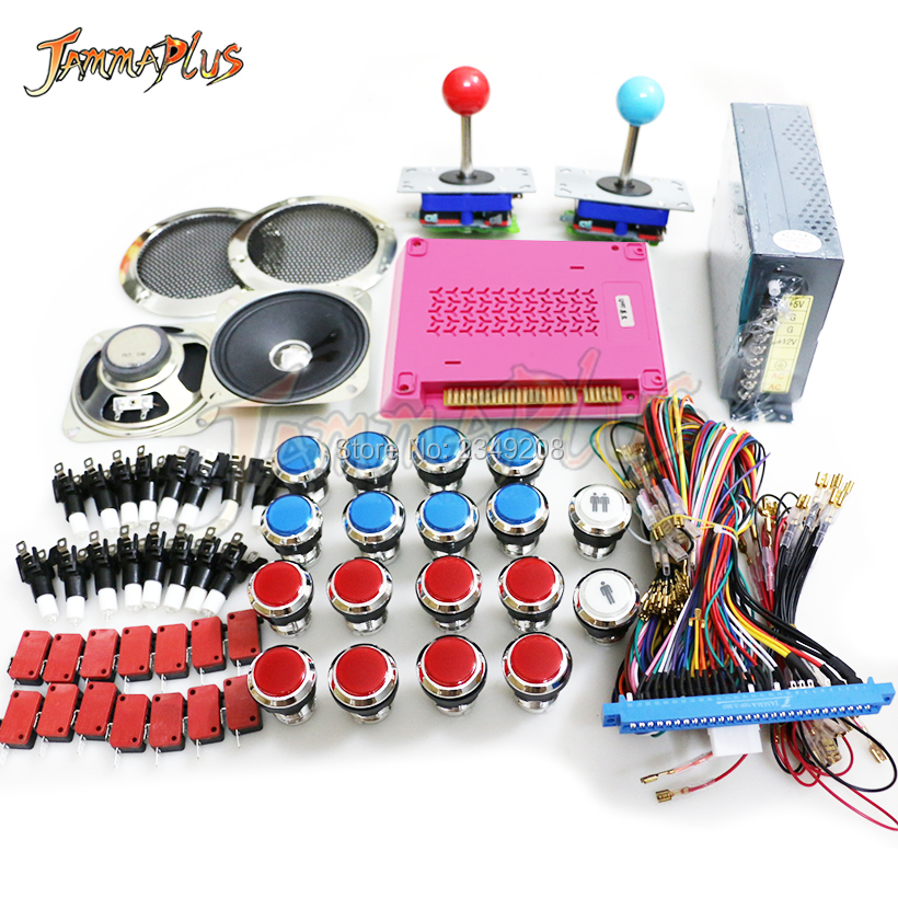 DIY jamma arcade cabinet game kit 999 in 1 Multigame PCB Board 1299 with 8 way