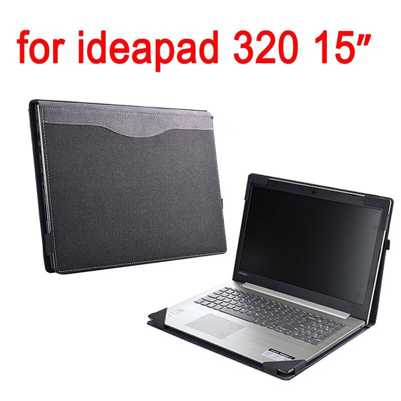 Étui pour lenovo Ideapad 320 15.6 320-15IKB pochette pour ordinateur portable Détachable Couverture De Cahier Sac Peau Protectrice Stylet Cadeaux