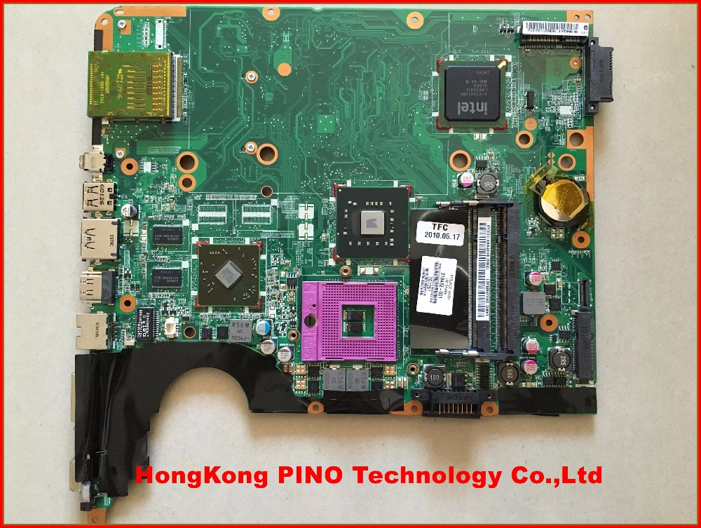 518432-001 for HP pavilion DV6 DV6-1000 laptop motherboard with intel chipset and with ATI HD4550 graphics 512M memory 609787 001 free shipping laptop motherboard for hp pavilion dv7t dv7 4000 hm55 ati ati hd5470 512 ddr3 da0lx6mb6h1