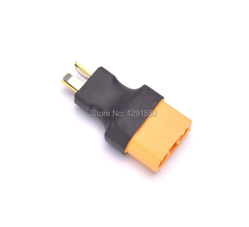 Female XT60 to Male Deans T Plug Lipo Battery Adapter for RC car plane jet boat