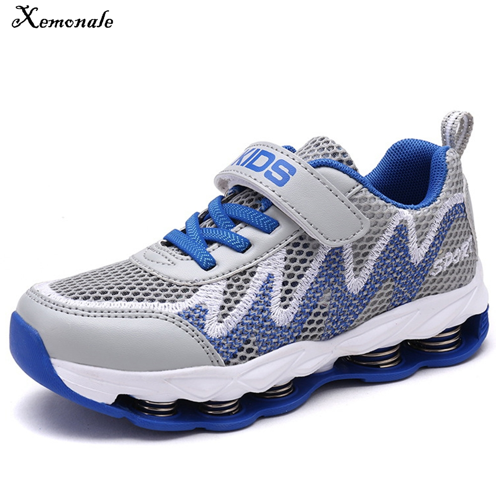 Xemonale Sport Boys Sneakers Kids Casual Shoes For Children Shoes Running Trainer Student School Footwear Summer Breathable Shoe