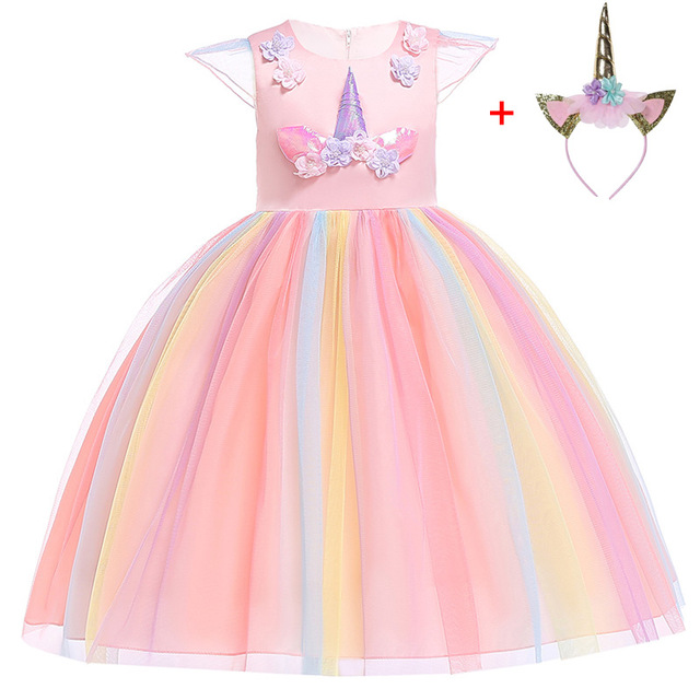 Unicorn Christmas Carnival New Year Dresses - Unilovers 35a111973d5a