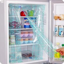 2 個冷蔵庫ツールペースト DIY 冷蔵庫のエネルギー省保存ステッカー冷蔵庫カーテンステッカー QW118