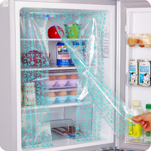 2 adet buzdolabı aracı Salçası DIY buzdolabı enerji tasarrufu koruma çıkartmalar Buzdolabı perde çıkartmaları QW118