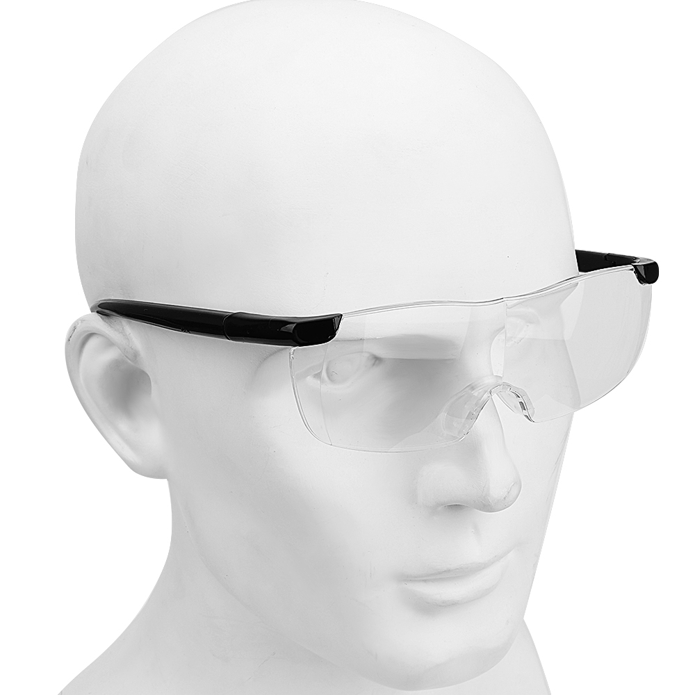 NICEYARD Working Goggles Magnifiers Eyewear Eye Protection 1.6 Times Magnifying Glass 250 Degree Presbyopic Glasses