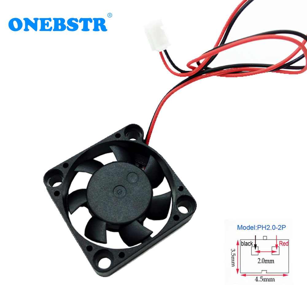 3007 Mini <font><b>Fan</b></font> DC <font><b>5V</b></font> 30X30X7mm Brushless <font><b>Fan</b></font> 3cm <font><b>30mm</b></font> Small Power Supply Cooling <font><b>Fan</b></font> PH2.0-2Pin Length 200mm Free Shipping image
