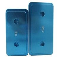 2pcs LotMetal 3D Sublimation Mold Printed Mould Heat Press Phone Case Mold For Iphone 6 4