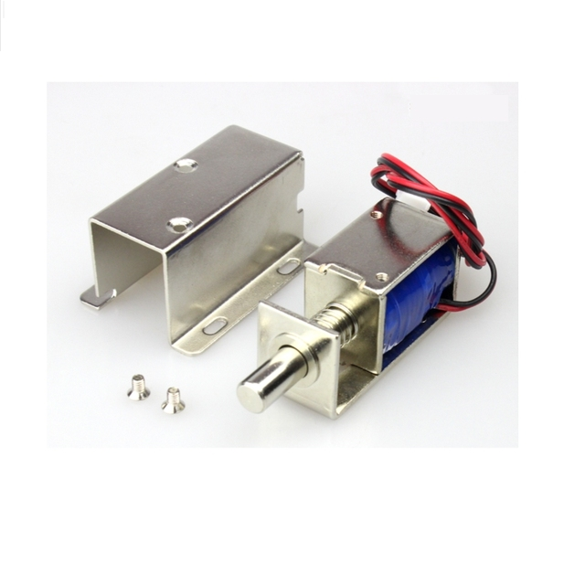 12v Cabinet Case Electric Solenoid Magnetic Lock Micro Safe Storage Cabinets Electronic