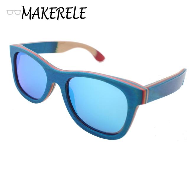 Miglior blu skateboard legno occhiali da sole donne montature per occhiali specchio polaroid - Occhiali per truccarsi allo specchio ...