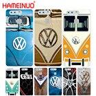 HAMEINUO VOLKSWAGEN VW Mini Bus Cover phone Case for huawei Ascend P7 P8 P9 P10 lite plus G8 G7 honor 5C 2017