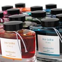 PILOT iroshizuku ink-50 Fountain bút mực Gốc Nhật Bản chai thủy tinh mực Tự Nhiên 24 màu sắc để chọn Miễn Phí Vận Chuyển