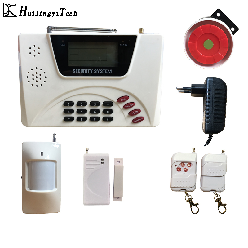 Dual Network Wireless GSM Alarm Home Security Alarm System Keyboard Home Alarm System Sensor Kit For House Security