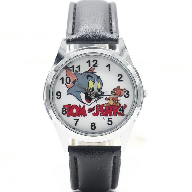 Hot sale Watch New Tom and Jerry Child Watch Cartoon Kids Sport Watch Boys quart