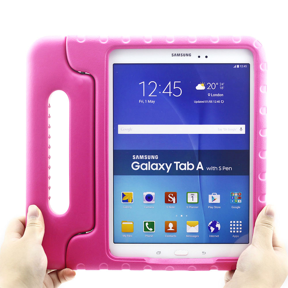 Shockproof Case For Samsung Galaxy Tab A 8.0 T350 T355 T351 Children Kids Safe EVA Foam Tablet Protector Case Handle Stand Cover