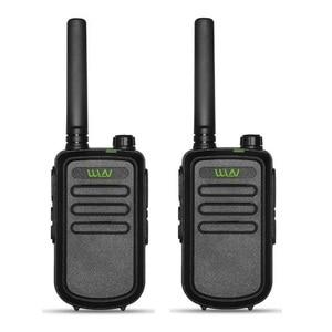 Image 2 - 2PCS מקורי WLN KD C10 ווקי טוקי Uhf 400 470MHz 16 ערוץ מיני שתי דרך רדיו תחנת חזיר רדיו Amador