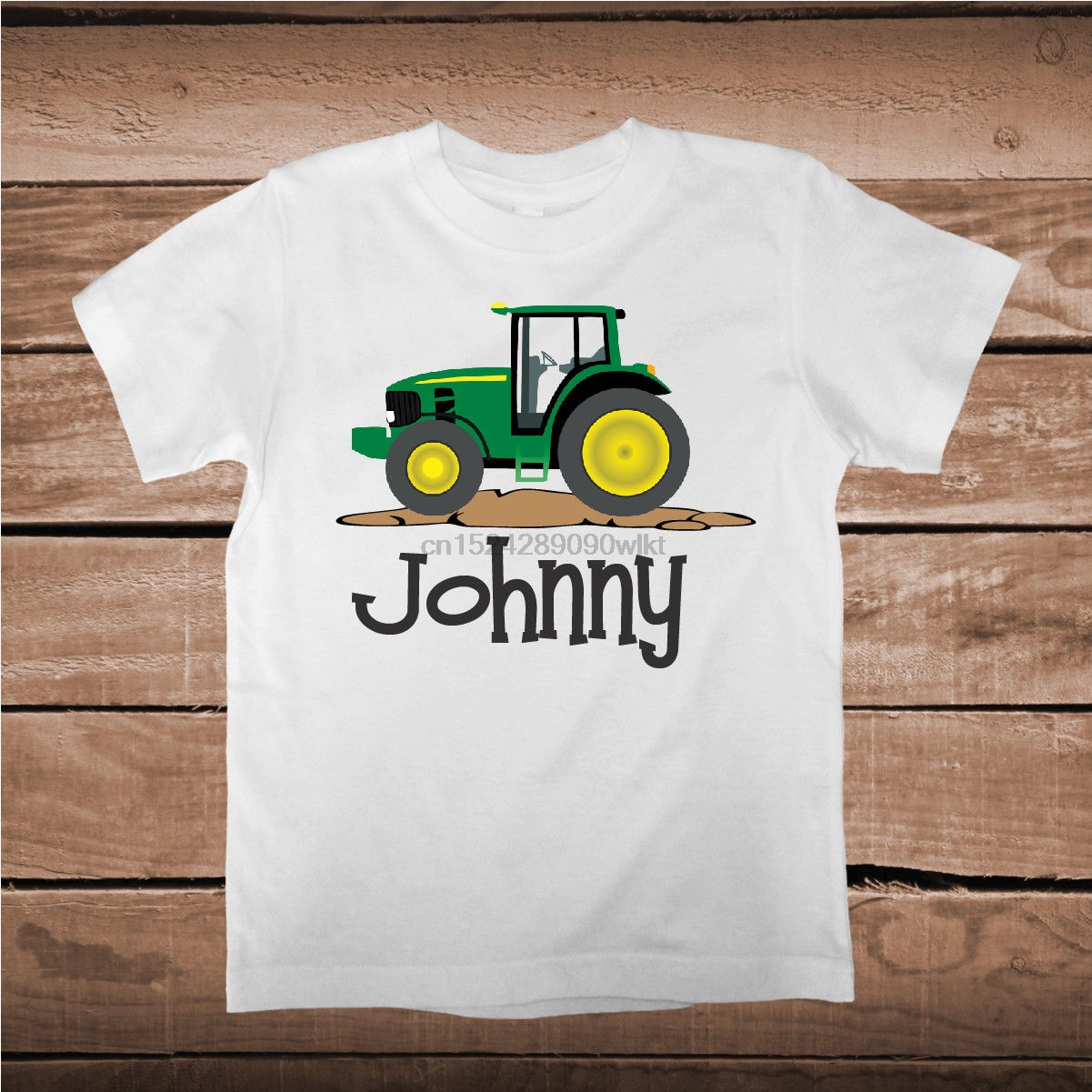 Tractor Tee Tees Shirt With Custom Name Boys 1st Birthday T Boy Gift Bb63 In Shirts From Mens Clothing On Aliexpress