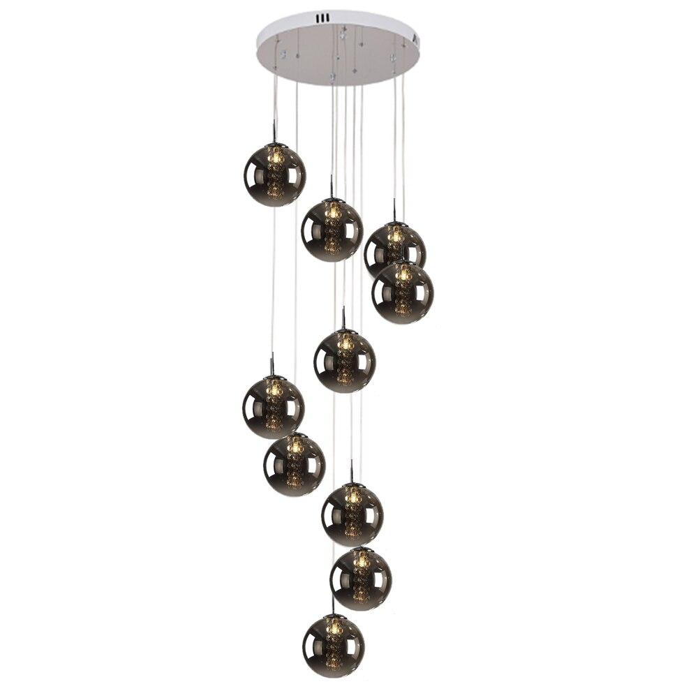 Vintage Glass Pendant Light Hanging Lamps Lighting Fixtures for the Living Room Pendant Lamp Modern Pendant