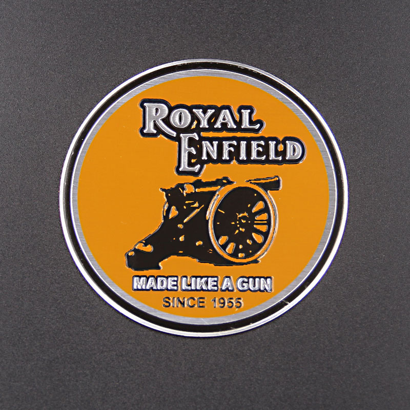 Royal Enfield Motorbike Emblem Badge aluminum standard high quality Decal & sticker for Bullet 350 etc Classic Retro Motorcycle