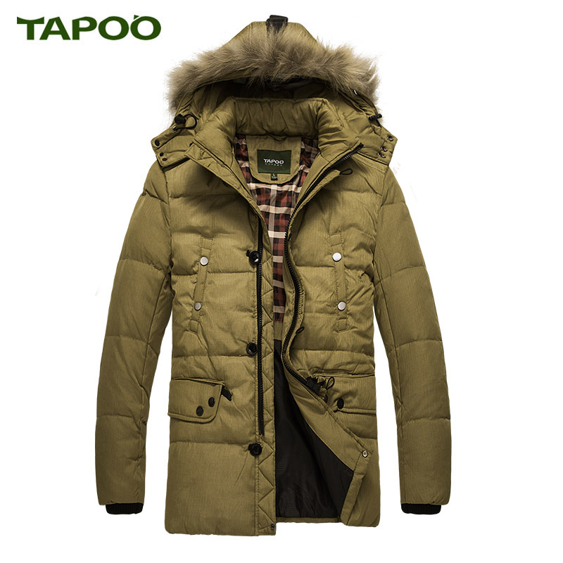 2017 Brand Down Parkas Men Winter Jacket White Duck Down Winter Jacket Men Warm Coat Parka Winter Coat Male Plus Size M-XXXL цены онлайн
