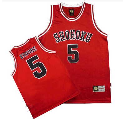 ג 'רזי צוות 1-15 כדורסל בבית ספר Shohoku Sakuragi Hanamichi חולצות טריקו סלאם דאנק קוספליי אחיד ספורט ללבוש גודל Ml XL XXL