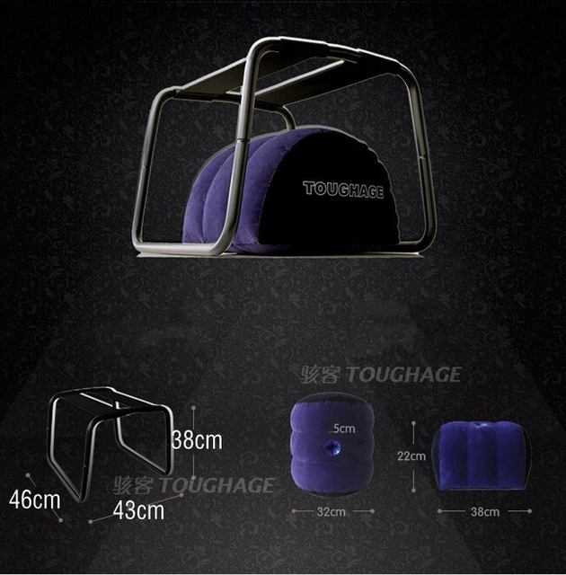 TOUGHAGE Loving Bouncer Sex Chair Trampoline Magic Cushion Stainless Steel & TPU Sex Furniture Product Adult Sex Toys For Couple