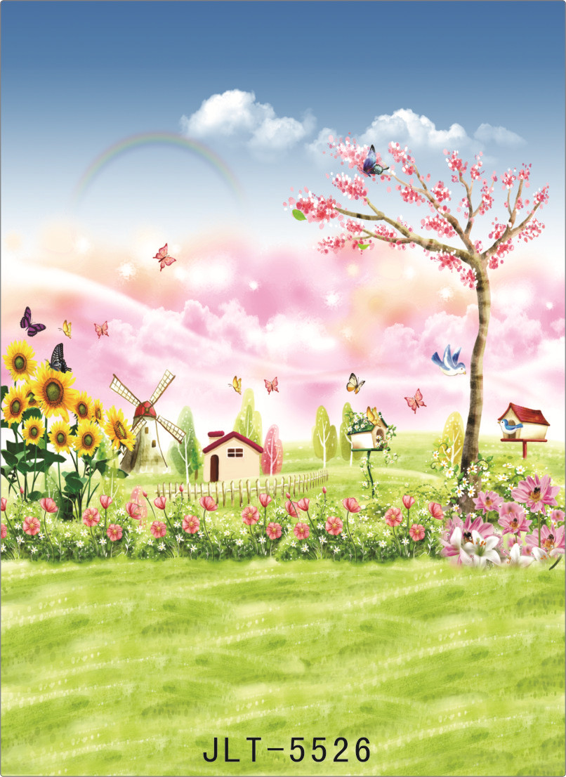 Background For Photos Spring Flowers Birds Paintings Computer