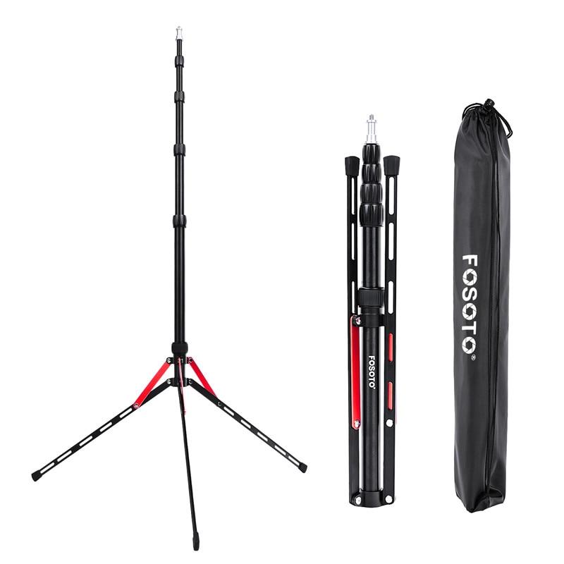 Fosoto FT-190B , красный светодиодный штатив с подставкой, сумка 2,2 м , софтбокс для фотостудии, фотовспышка, отражатель зонта