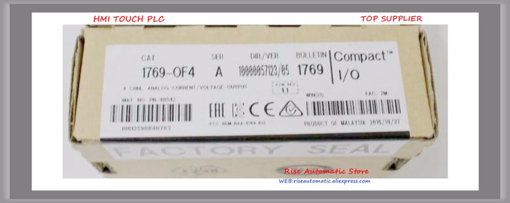 New Original PLC Module 1769-OF4 100% test good qualityNew Original PLC Module 1769-OF4 100% test good quality