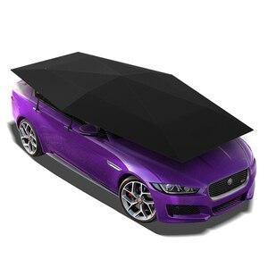 Универсальный чехол для автомобиля 4,2 м автоматический зонт от солнца для автомобиля тент для автомобиля Защита от УФ-лучей с беспроводным ...