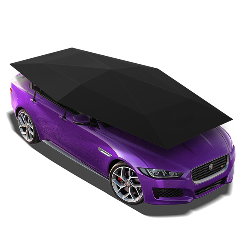 Universal car cover 4.2M Automatic Car sun shade Umbrella car cover Tent Anti-UV protection with wireless controller 2020