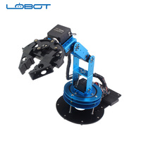 6 DOF Robotic Arm LOBOT Educational Robot Teaching Competition Kit
