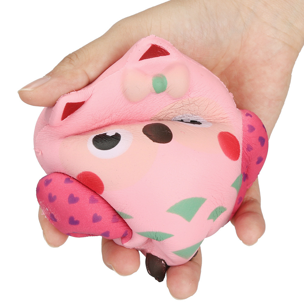 2017 New Antistress Toy For Kids 13cm Cute Owl Buns Cream Scented Slow Rising Toy Cute Squishy Brinquedos Para As Criancas #8111