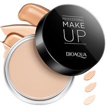 BIOAQUA, crema correctora, cobertura completa de acné del poro, Control de aceite, Base humectante de larga duración, imprimación de pinceles de maquillaje TSLM2