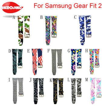 Fashion Watch band Luxury Replacement Silicone Watchbands For SAMSUNG GEAR Fit 2 Fit2 SM-R360 Bracelet Wristband Strap hot sale compatible for samsung gear fit 2 watch strap silicone wristband l s replacement for samsung gear fit 2 pro fit 2 sm r360 band