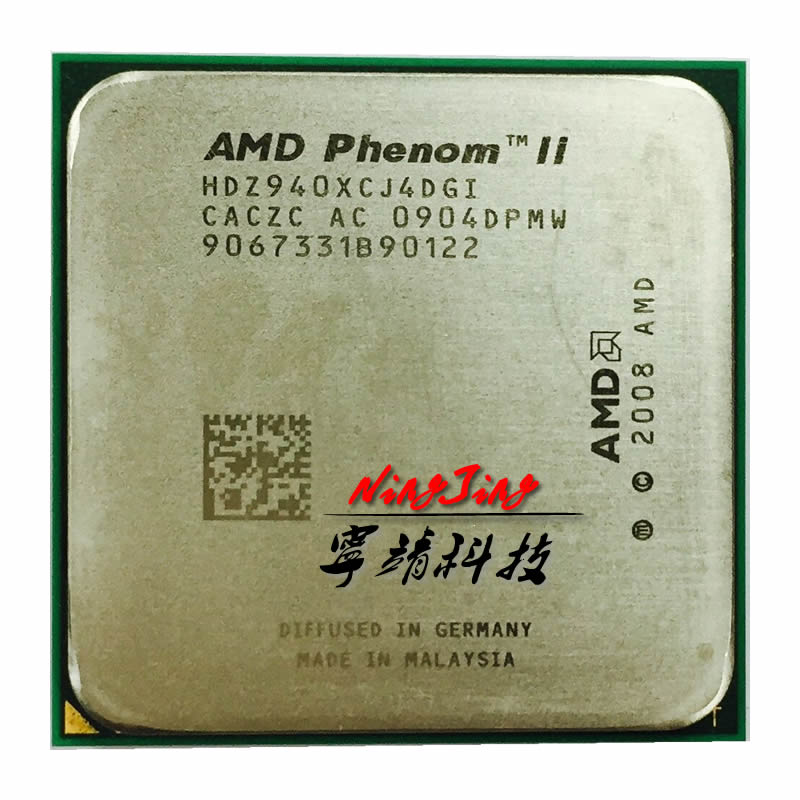 Bảng giá AMD Phenom X4 940 X4 940 3.0 GHz Quad-Core CPU Processor HDZ940XCJ4DGI 125W Socket AM2+ contact to sell X4 920 Phong Vũ