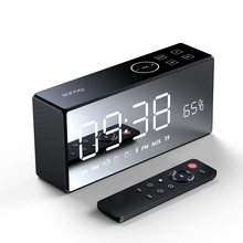 Sanag X9 Bluetooth Metal Portable Super Bass Wireless Mirror Remote Control Speaker 3D Digital Sound Loudspeaker Handfree MIC