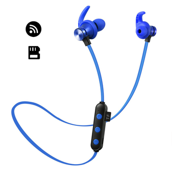 2aa2b4c79 Nuevo reproductor de MP3 portátil para deportes de gran promoción,  auricular inalámbrico, reproductor de MP3, auricular impermeable,  reproductor de música ...