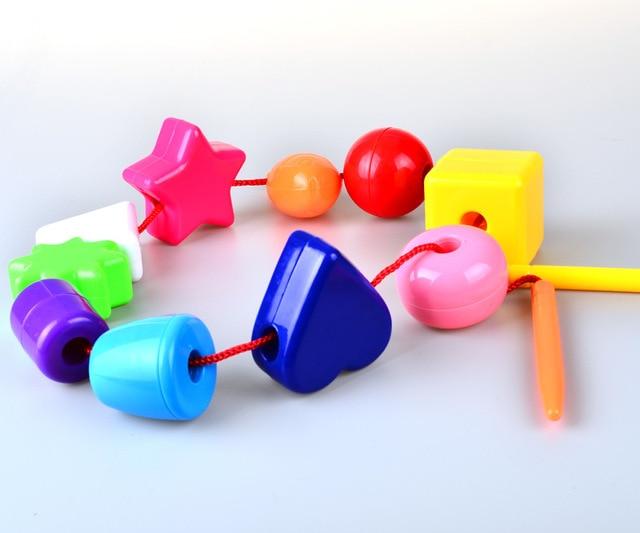Aliexpress Buy Baby Toddler Lacing Stringing Beads