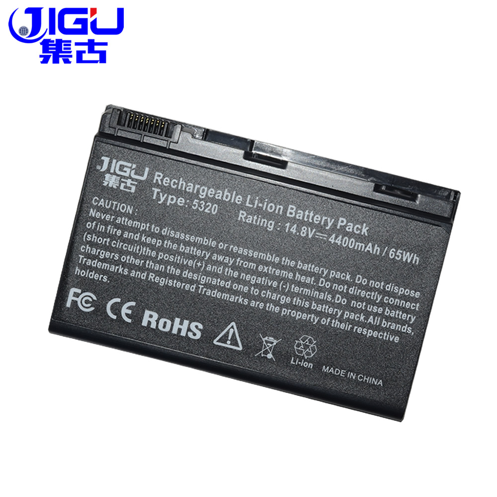 JIGU 8 Cell New Laptop Battery For Acer Extensa 23.TCZV1.004 AK.008 BT.054 BT.00803.022  ...