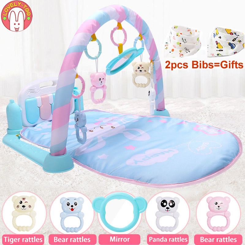 Children's Carpet Baby Play Mat Developing Carpet Puzzle Playcloth Toys Pad For Crawling Babygym Activity Rug For Babies Games