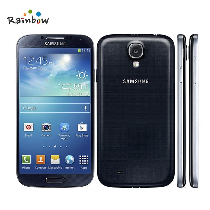 "Original Samsung GALAXY S4 i9500 Factory Unlocked Smartphone 13MP Camera 2GB RAM 16GB ROM 5.0"" inch HD GPS Refurbished Phone"