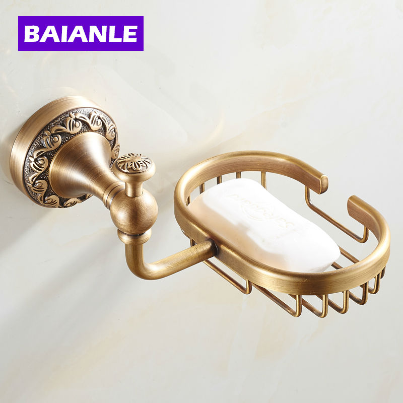 цены New Arrival modern Antique bronze finish brass Soap basket /soap dish/soap holder /bathroom accessories