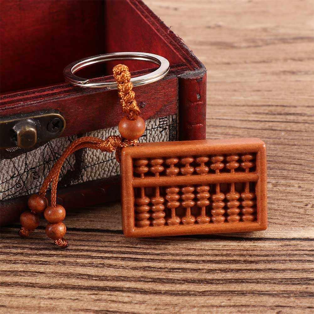 Китайский стиль учета 8 строк брелок счеты брелок Мини Подарки для мальчиков