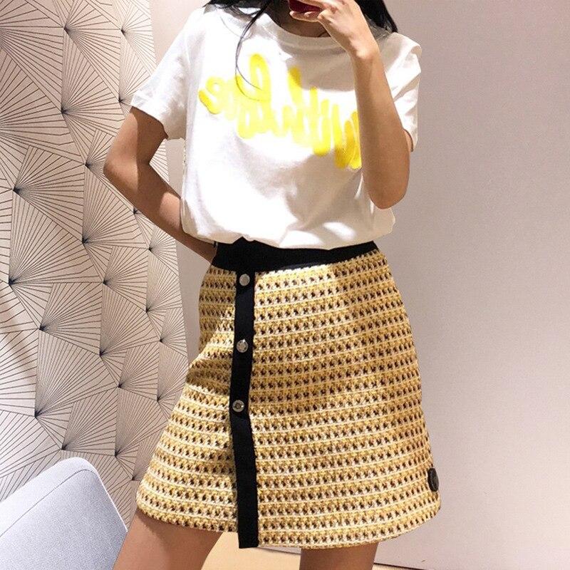 2019 Spring and Summer New Skirt Elastic Skirt Women Skirt
