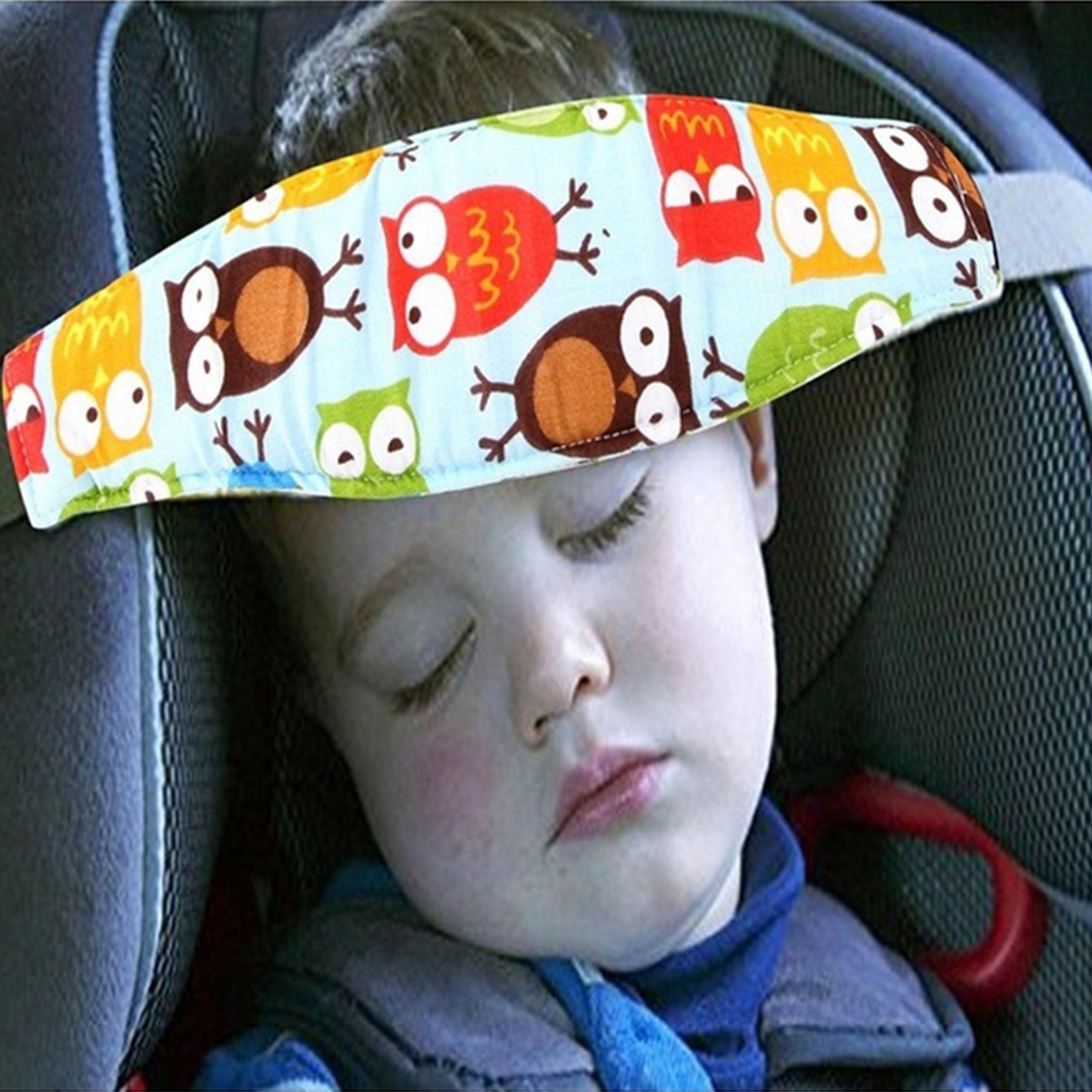 Adjustable Infants And Baby Stroller Head Support Pram Stroller Safety Seat Sleep Positioner Fastening Belt For Baby